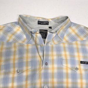 FOX RACING Men's Large Button Down Shirt